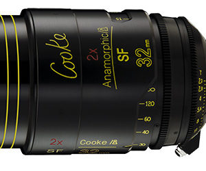cooke 32mm Anamorphic Lens Hire Belfast Northern Ireland