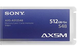 Sony 512Gb AXS Card Hire Belfast
